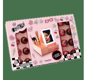 Porta-make-rosa